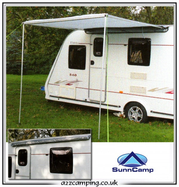 New Sunnc& Protekta Roll Out Sun Canopy & 92+ Caravan Sun Awnings - Isabella Sunshine Blue Caravan Sun Canopy ...